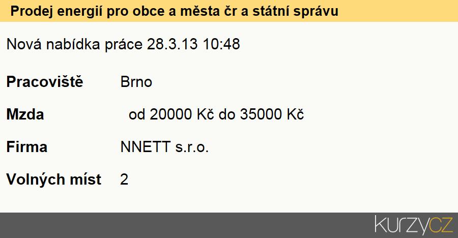 Prodej energií pro obce a města čr a státní správu., Obchodní zástupci