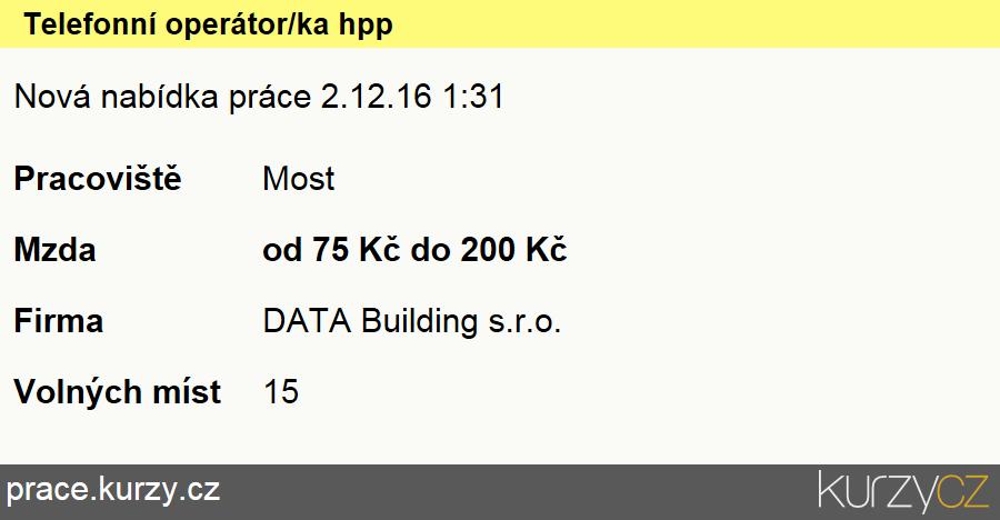 Telefonní operátor/ka hpp, Operátoři telefonních panelů