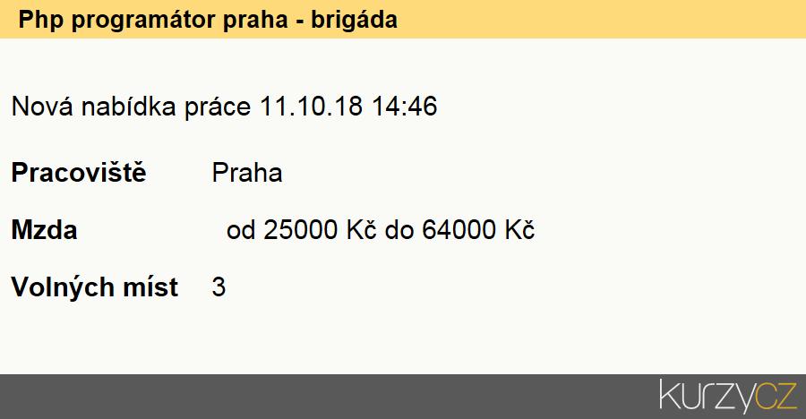 1a70d4088 Php programátor praha - brigáda, Programátoři počítačových aplikací  specialisté
