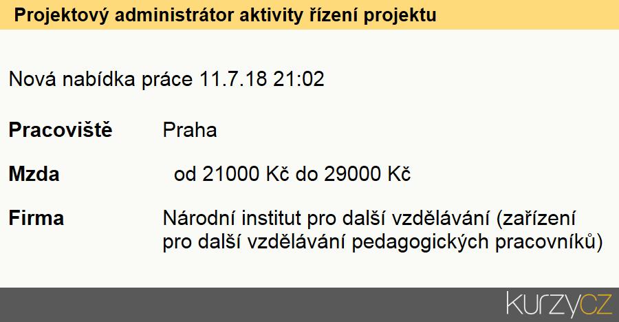 Projektový administrátor aktivity řízení projektu, Návrháři a správci databází