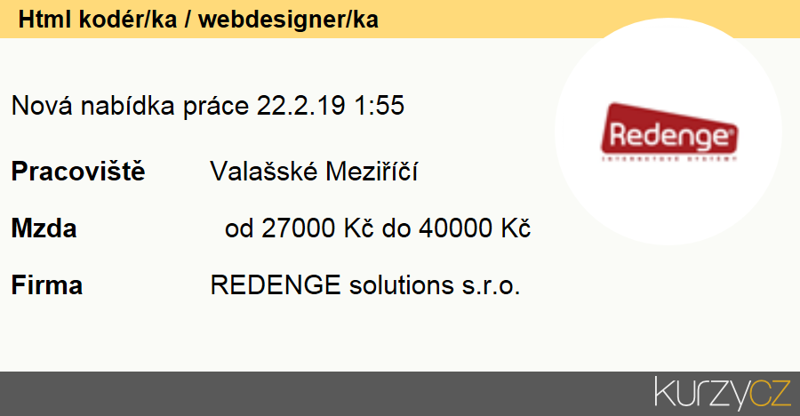 Html kodér/ka / webdesigner/ka, Vývojáři webu a multimédií