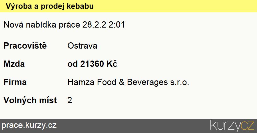 Výroba a prodej kebabu, Kuchaři (kromě šéfkuchařů)
